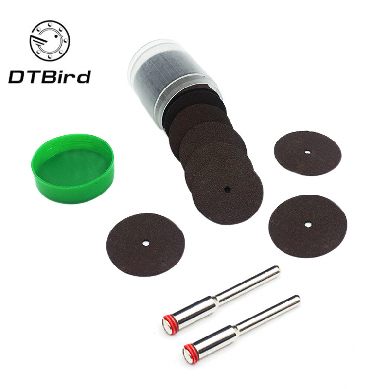 36pcs/set Universal 24mm Mini Diamond Cutting Discs Wheel Drill Bit For Rotary Jewellery Tool Kit Cut Off Wheel Random Color