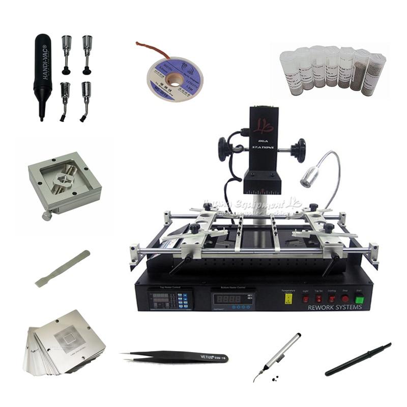 Nova versão ly ir8500 infravermelho ir bga retrabalho estação de solda reballing pcb chips placa-mãe máquina de reparo