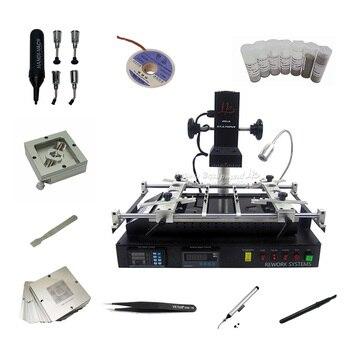 цена на New version LY IR8500 infrared IR BGA Rework Station soldering reballing PCB chips motherboard repair machine universal stencils
