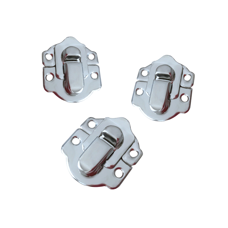 10x Box Clasps Antique Iron Jewelry Box Padlock Hasp Locked Wooden Wine Gift Box Handbag Buckle Hardware Accessories