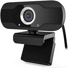 Webcam de computador anti-peeping câmera rotativa para webcam de vídeo ao vivo com microfone para a reunião on-line que ensina webcams woring