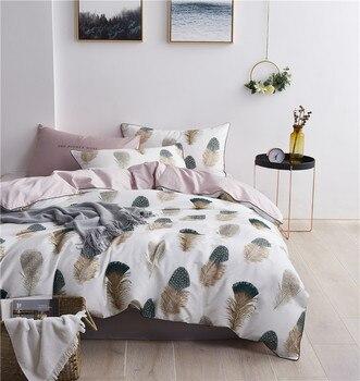 Egyptian Cotton Bedding Set Pretty Feathers