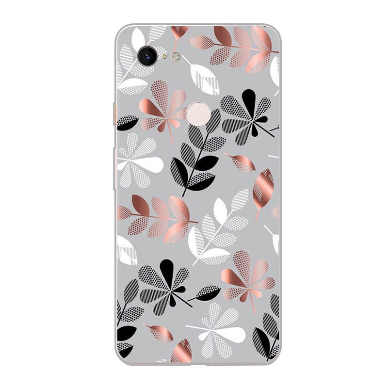 ciciber Leaf Flower Soft Silicone Phone Case For Google Pixel 3 2 XL TPU Back Cover for Pixel 3XL 2XL Coque Fundas Capa Shell