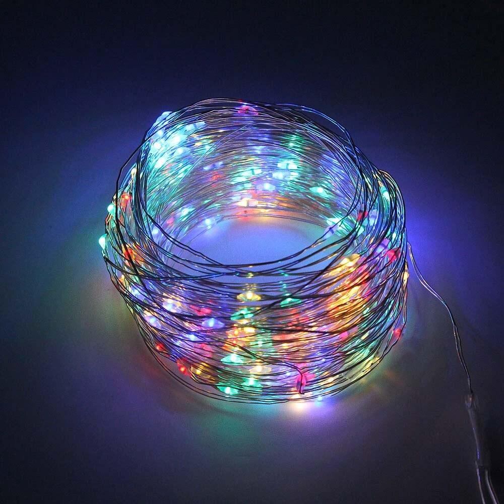 lowest price ROPIO LED Diamond Shape Fairy String Light 1 5m 3m 10 20 LEDs Retro Iron Metal Wedding Party Home Decoration Lantern String Lamp