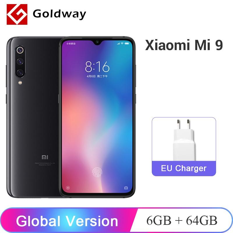 Global Version Xiaomi Mi 9 Mi9 6GB RAM 64GB ROM Mobile Phone Snapdragon 855 Octa Core 6.39