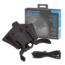 Collective Minds Strike Pack F.P.S. Dominator Paddles Trigger Button Turbo Adapter for PS4 Controller Gamepad Handle (CM00085)