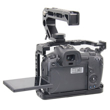 Camera Cage for Canon EOS R with Coldshoe 3/8 1/4 Thread Holes Arca Swiss Quick Release Plate Camera Protective Cover