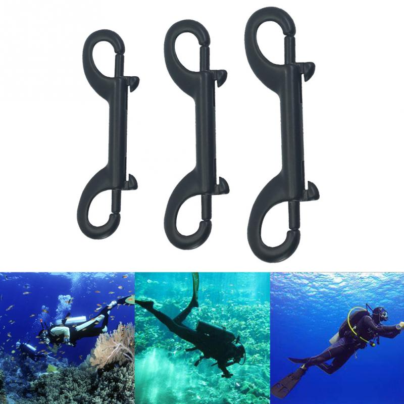 Diving Hook Climbing Stainless Steel Double Ended Accessories Mountaineering Spring Buckle Clasps Clip Carabiner Quick Release