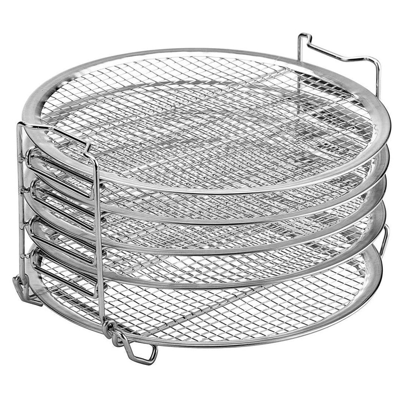 High Quality Air Fryer Accessories 5-layer Grill For Ninja Foodi Dehydrator Stand Food Grade For Dehydrator Rack Tand Acce