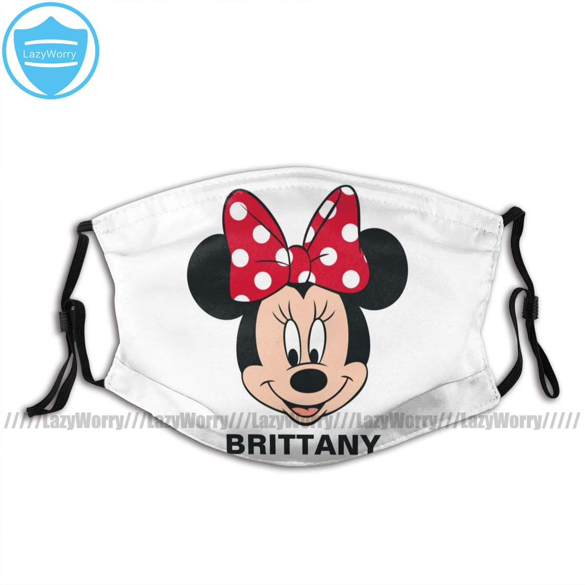 Mickey Mouse Mouth Face Mask Minnie Mouse Head Logo Facial Mask Pretty Kawai With Filters Adult Mask