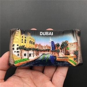 Image 4 - Magnets Sticker For Refrigerator Hungary Dubai Thailand Poland Egypt Italy Australia Spain Belgium Resin Fridge Magnet souvenir