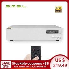 SMSL SU 8 V2 Version2 ES9038Q2M * 2 32 bitowy/768kHz DSD512 dekoder DAC USB/optyczny/koncentryczny Su8