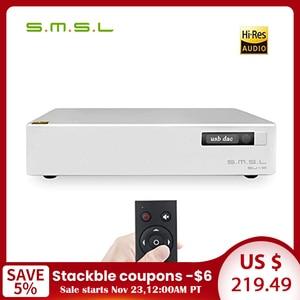 Image 1 - SMSL SU 8 V2 Version2 ES9038Q2M * 2 32bit/768kHz DSD512 DAC décodeur USB/optique/Coaxial Su8