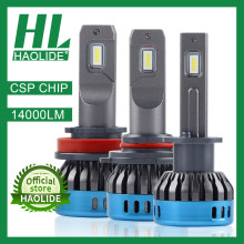 /HL CSP Chip Mini H7 lámparas LED para coche bombilla del faro H4 LED H11 H8 Luz de niebla HB3 9005 HB4 9006, 6000K H1 luces led para auto 12V(China)