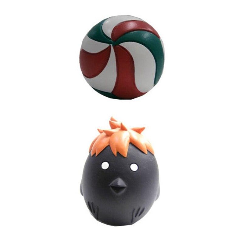 Image 4 - Anime Haikyuu Volleyball Athlete Hinata Syouyou Shoyo PVC Action Figure Collection Model Toys DollAction & Toy Figures   -
