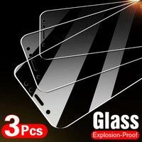3 pezzi di vetro temperato a copertura totale per Xiaomi Redmi Note 9 8 7 5 6 9S 10 Pro Max pellicola salvaschermo per Redmi 8A 8 7 7A 9 9A 8T vetro