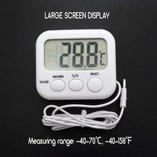 2020 Refrigerator Aquarium Kitchen Electronic LCD Max-Min Thermometer Digital Thermo