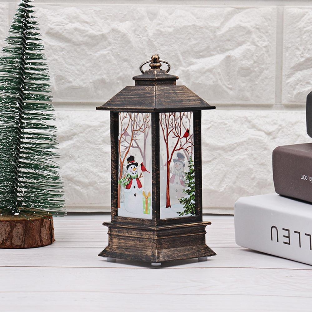 Горячие рождественские украшения для дома светодиодный 1 шт. Рождественская свеча с светодиодный свет чая свечи для Рождественского украшения# N - Испускаемый цвет: B