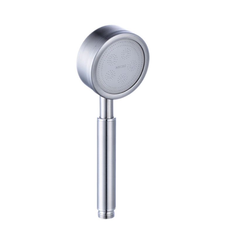 304 Stainless Steel Nozzle Bathroom Supercharge Shower Head Set Sanitary Ware Multi-functional Shower Negative Ion