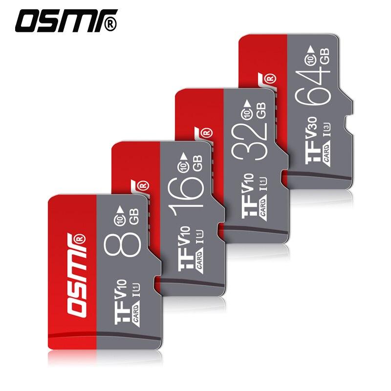 R0W Micro Sd Card 256GB Microsd Memory Card 128gb 64gb 512GB Card SD 32gb 8GB 16GB Class10 Memory Sd Flash Card For Smart Phone