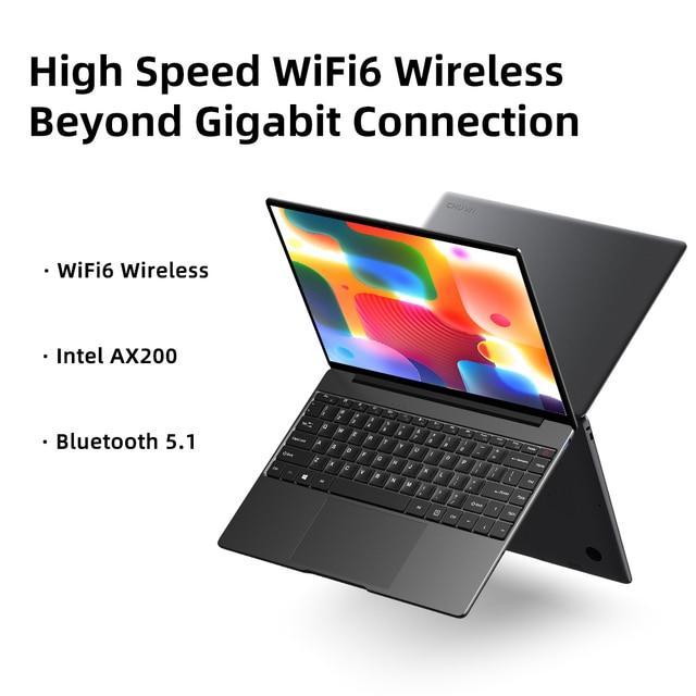 CHUWI GemiBook Pro 2K Screen 14inch Laptop Intel Gemini lake J4125 Quad Core 12GB RAM 256GB SSD Windows 10 With backlit keyboard 5