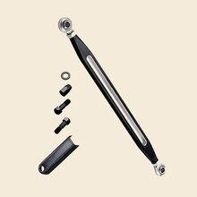Billet engrenagem redonda shifter biela alavanca de ligação do deslocamento barra para harley touring fl fx flht electra estrada rua tour glide 19