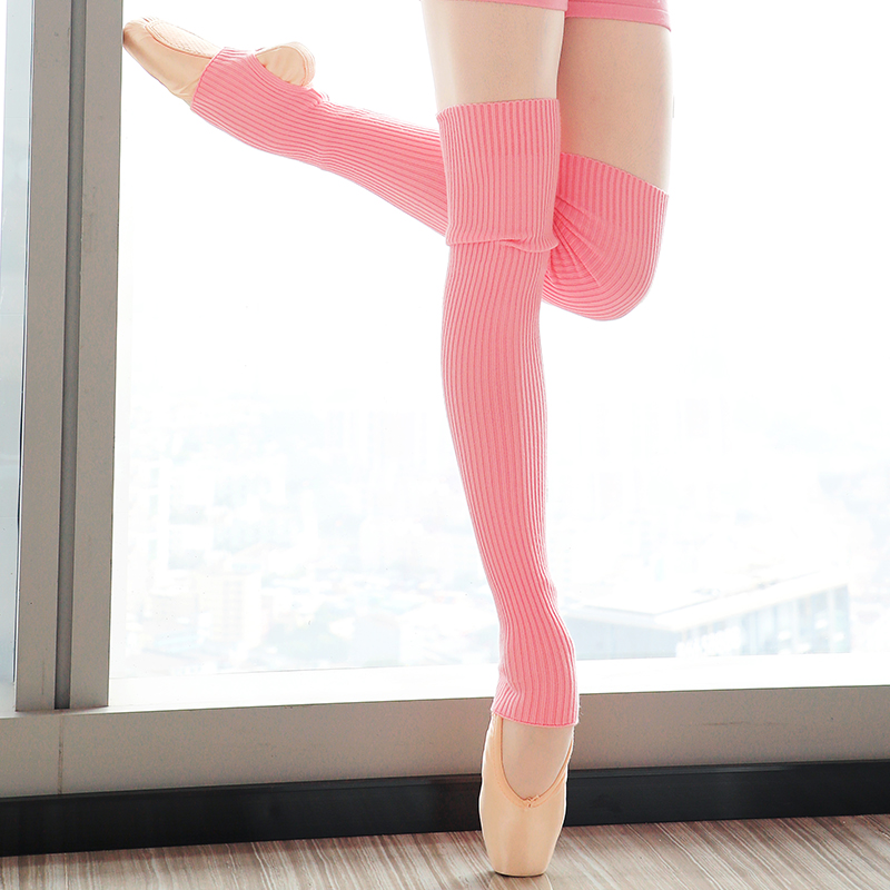 New Autumn Winter Professional Women Ballet Section Knitting Dance Ankle Socks Adult Keep Short Warm Leggings Socks For Ballet