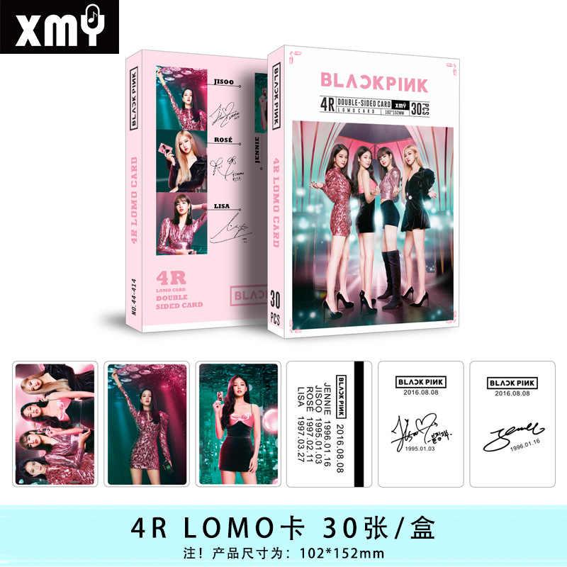 30pcs set KPOP Stray Kids Big photocard Twice BLACKPINK ASTRO X1 Signature Photo Album Double print.jpg q50