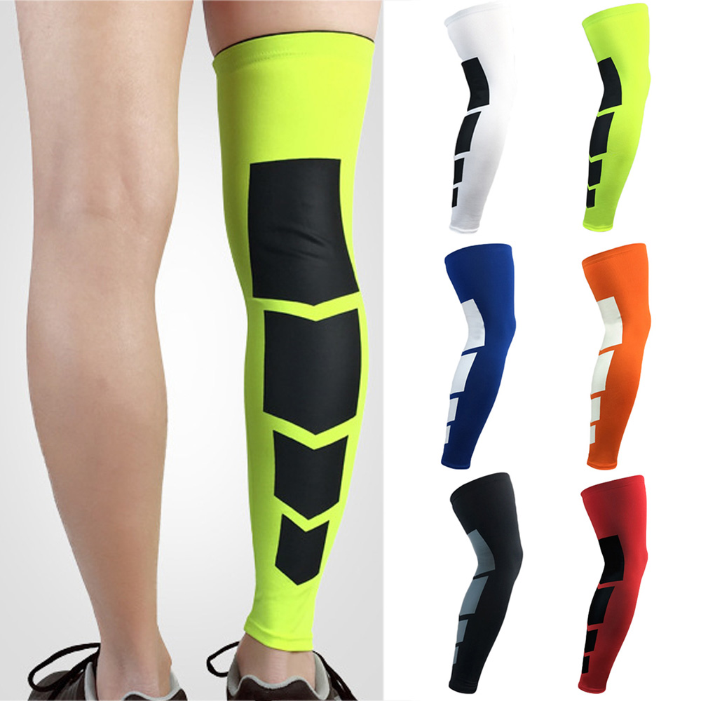 Sports Basketball Running Sport Leg Sleeve Support Knee Pad Protective Gear