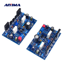 AIYIMA 1Pair Power Amplifier Board 100Wx2 Amplificador IRF240 FET Class A Power Amplifier Audio Board Amp For Home Sound Theater