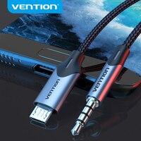 Tions Micro USB zu 3,5mm Aux Kopfhörer 3,5 Jack Adapter Audio Kabel für Samsung Xiaomi LG Android HTC audio kabel