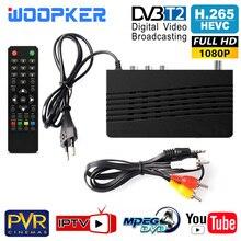 TV Tuner DVB T2 HD 1080P VGA DVB-T2 DVB-C Monitor Wifi Adapter USB2.0 Satellite Receiver H 265 Decoder for IPTV Youtube