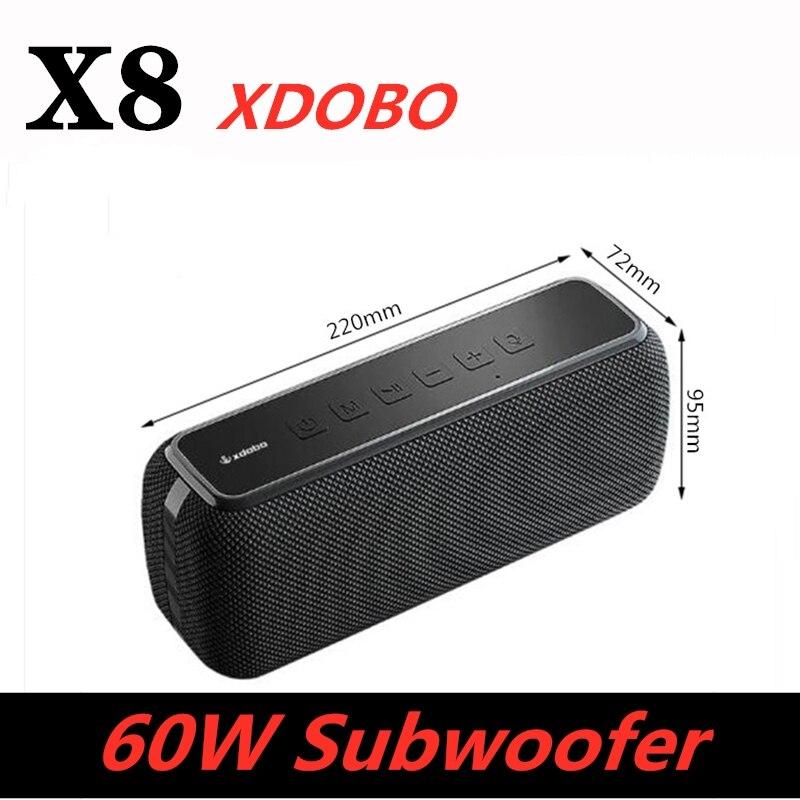 Bluetooth-колонка, 60 Вт, IPX5, водонепроницаемая