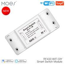 RF433 WiFi DIY Smart Switch Module RF433 Remote Control for