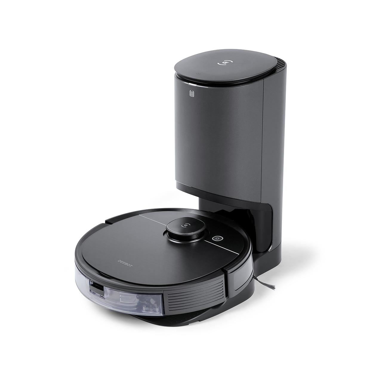 2020 Ecovacs Deebot T8 AIVI + aspirateur Robot nettoyeur avec Multi sol nettoyage Robot récupération automatique de la poussière cadeaux