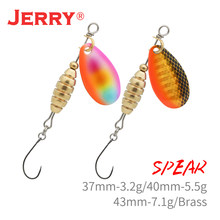 Jerry Spear isca isca de metal ultraleve UL iscas de pesca spinnerbait poleiro truta baixo