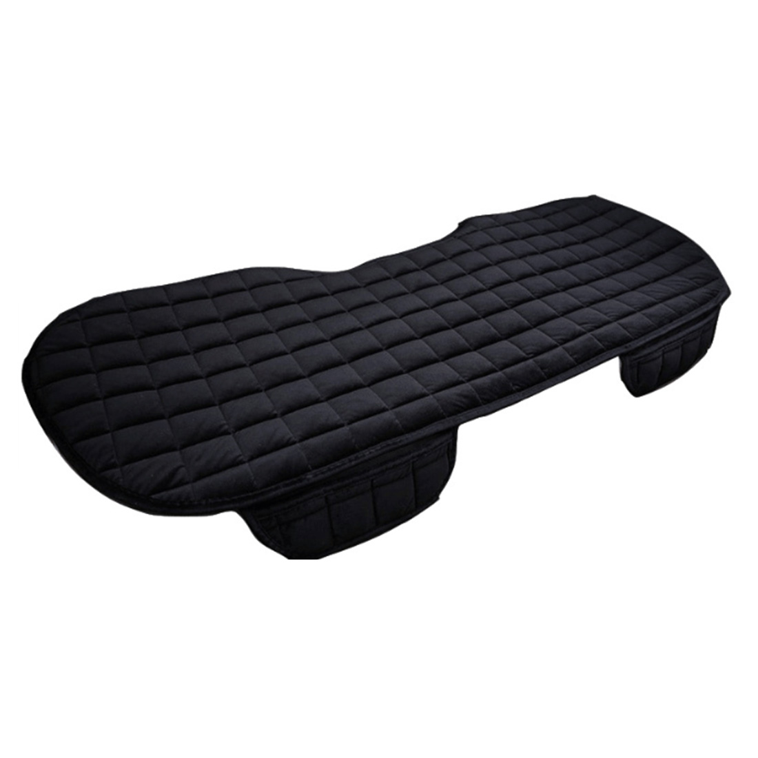 Image 4 - Car Front Rear Universal Seat Cover Winter Warm Black Seat Cushion Anti Slip Rear Back Chair Seat Pad For Vehicle Auto Protector-in Automobiles Seat Covers from Automobiles & Motorcycles