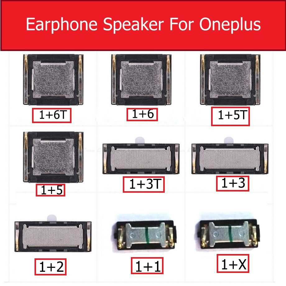 Earpiece Speaker For Asus For Oneplus 1+2 3 Two Three 5 6 6T 5T A2005 Ear Speaker Sound Earphone Ear Piece Replacement Parts
