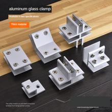 Szklany klips kombinacja klips ramka wyświetlacza zapięcie klips wspornik zacisk szklany klips szafka F T typ krzyż zamocowana klamra złącze tanie tanio NONE CN (pochodzenie) STAINLESS STEEL Woodworking Standardowy As shown Wspornik jednostronny FURNITURE Glass aluminum clip
