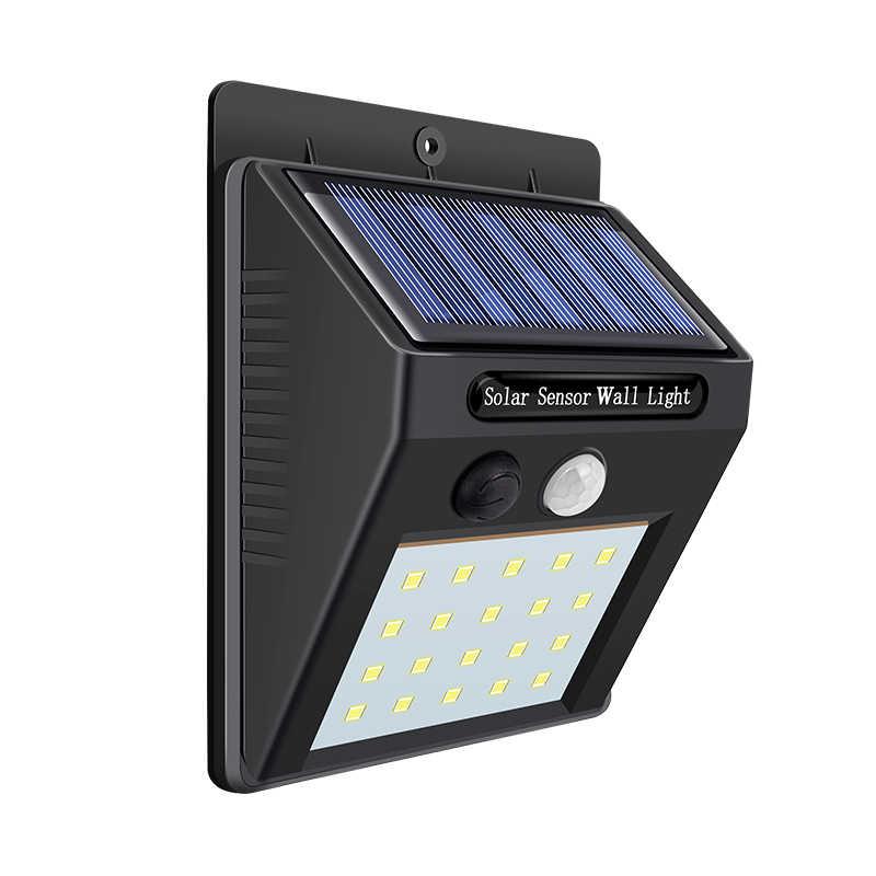 שמש מנורת קיר נייד Led אור חיישן באופן אוטומטי פנס Luminaria לילה led גן כביש אור עמיד למים חיצוני הנורה