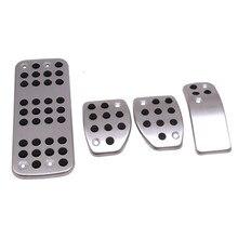 Para PEUGEOT 207, 301, 307, 208, 2008, 308 de 408 cc/CITROEN C3 C4/DS 3 4 6 DS3 DS4 DS6 coche Gas pie resto modificado Pedal Pad placa