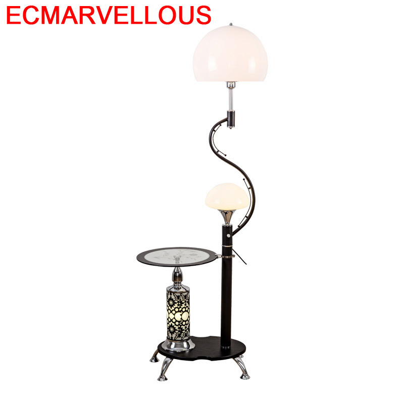 Piso Da Abajur Para Quarto Lampada Terra Salon Stand Lambader Aydinlatma Stehlampe Staande Lampara De Pie Lampadaire Floor Lamp|Floor Lamps| |  - title=