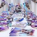 Fortnite игра игрушка вечерние аксессуары подставка для свадебного торта бумажный стаканчик лоток столовые приборы украшения ко дню рождения ...