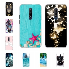 For OnePlus 7 Pro Phone Case Ultra-slim Soft TPU Silicone Cover Cartoon Patterned Shell Bag
