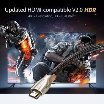UGREEN HDMI Cable 4K/60Hz HDMI Splitter Cable for Xiaomi Mi Box HDMI 2.0 Audio Cable Switch Splitter for Tv Box PS4 HDMI Cable 2