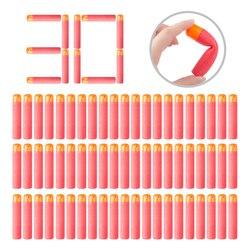 30-60Pcs Darts For Nerf Mega 9.5cm Sniper Darts Bullets Mega Foam Refill Darts Big Hole Head Bullets for N-Strike Mega Series