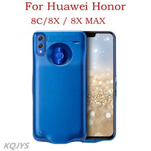 KQJYSแบบพกพากรณีสำหรับHonor 8X Max Power Bankแบตเตอรี่ชาร์จสำหรับHuawei Honor 8X Honor 8Cกรณีแบตเตอรี่
