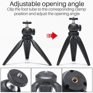 Image 3 - Mini trípode portátil con rotación de 360 grados, palo de Selfie para iPhone, Huawei, P30 Pro, GoPro Hero 7/6/5
