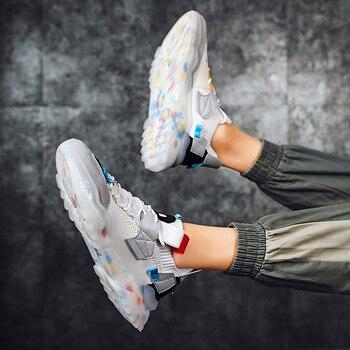 Nuevos zapatos deportivos para Hombre, zapatos informales de marca a la moda...