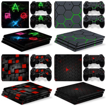 Skin Sticker for PS4 PRO Console and controller